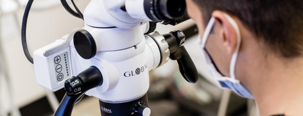 стоматологический операционный микроскоп global и axis