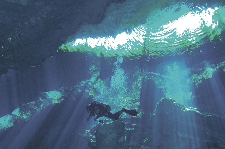 Underground cenotes